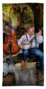 Music Band - The Bands Back Together Again  Beach Towel