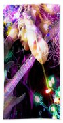Musical Lights Beach Towel