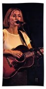 Musician And Songwriter Sam Phillips Beach Towel