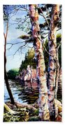 Muskoka Reflections Beach Towel