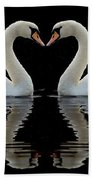 Mute Reflections Beach Towel