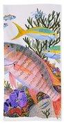 Mutton Snapper Reef Beach Towel