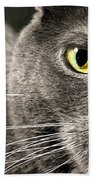 My Eye's On You Beach Towel