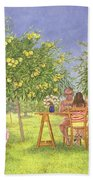 My Family And Other Animals Beach Towel