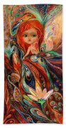 My Fiery Fairy Gwendolyn Beach Towel
