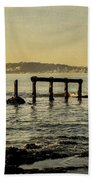 My Sea Of Ruins II Beach Towel by Marco Oliveira