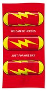 My Superhero Pills - The Flash Beach Towel