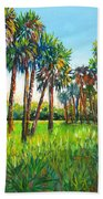 Myakka Palms Beach Towel