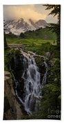 Myrtle Falls Morning Light Beach Towel
