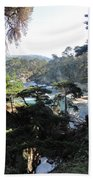 Mystic Bridge Beach Towel