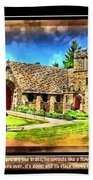 Mystic Church - Featured In Comfortable Art Group Beach Towel