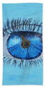 Mystic Eye Beach Towel