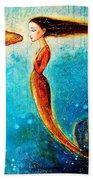 Mystic Mermaid II Beach Towel