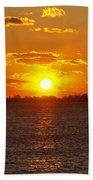 Mystic Sunset Beach Towel