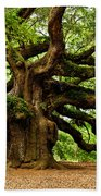 Mystical Angel Oak Tree Beach Sheet