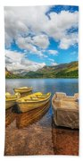 Nantlle Lake Beach Towel