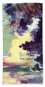 Napa Valley Forest Fall Beach Towel