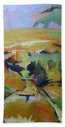 Napa Valley Perriwinkle Sky Beach Towel