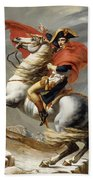 Napoleon Bonaparte On Horseback Beach Towel by War Is Hell Store