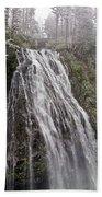 Narada Falls Mt Rainier Beach Towel