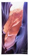 Narrow Canyon Xii Beach Towel