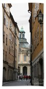 Narrow Road Stockholm Beach Towel