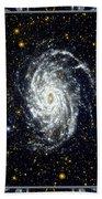Nasa Big Brother To The Milky Way Beach Towel
