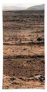 Nasa Mars Panorama From The Mars Rover Beach Towel