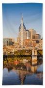 Nashville Morning Beach Towel