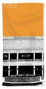 Nashville Skyline Grand Ole Opry - Orange Beach Towel