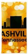 Nashville Tn 3 Beach Towel