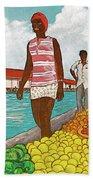 Nassau Woman Beach Sheet