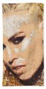 Natasha Bedingfield-bam Beach Towel