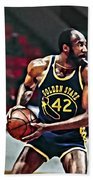 Nate Thurmond Beach Towel