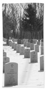 National Cemetery   # Beach Towel