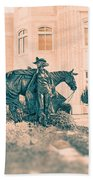 National Cowgirl Museum V2 Beach Towel