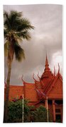 National Museum Of Cambodia Beach Towel