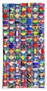 Nations United Beach Towel
