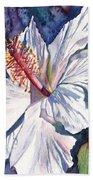 Native Hawaiian Hibiscus Beach Towel