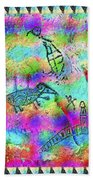 Native Legends I Beach Towel