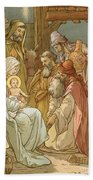 Nativity Beach Towel