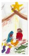 Nativity Beach Towel