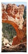 Natural Bridge  Bryce Canyon Beach Towel