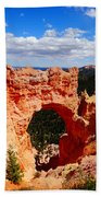Natural Bridge In Bryce Canyon National Park Beach Towel