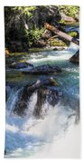 Natural Bridges Beach Towel