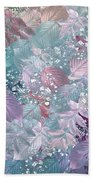 Naturaleaves - S1002b Beach Towel by Variance Collections