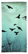 Nature In Motion Beach Towel