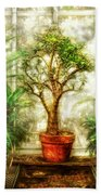 Nature - Plant - Tree Of Life  Beach Towel by Mike Savad