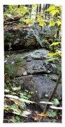 Nature's Mossy Boulders Beach Towel