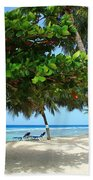 Natures Umbrella Tree Beach Sheet